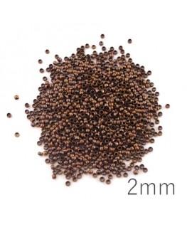 Perles à écraser 2mm cuivre x1000