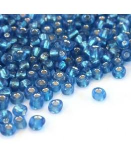 Perles de rocailles 4mm turquoise foncé