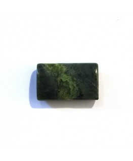 Perle rectangle aplatie 21mm jade coréen x1