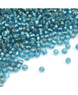 Perles de rocailles 2mm turquoise