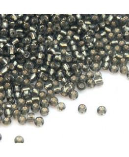 Perles de rocailles 2mm gris