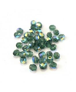 Perles à facettes 4mm tourmaline AB x40