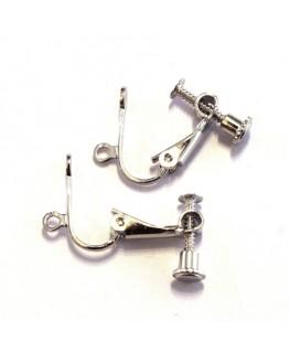 Attaches boucles d'oreilles clip à visser