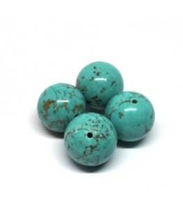Perle pierre turquoise