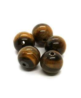 Perles oeil de tigre 10mm