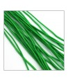 fil élastique gainé 1mm vert