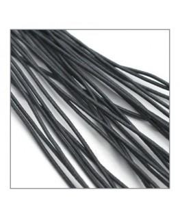 fil élastique gainé 1mm gris