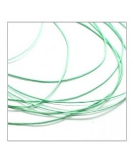 Fil nylon tressé 0,5mm vert pistache