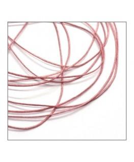 fil nylon tressé 0,5mm rose