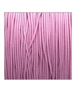 Fil élastique gainé 1,2mm rose clair