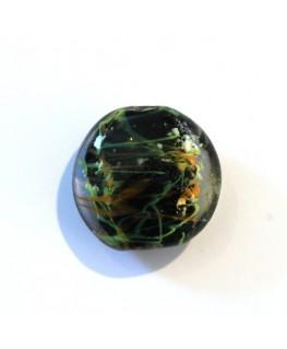Disque en verre noyau noir 20mm
