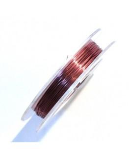 10 m fil de cuivre 0.3mm rouge