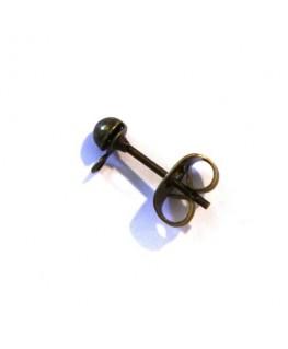 Boucle d'oreille cuivre x10