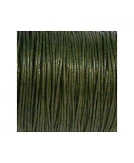 Lacet coton 0.7mm marron x 3m