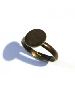 Bague plateau 10mm cuivre x 1