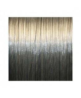 Fil câblé pour bijoux 90m gris