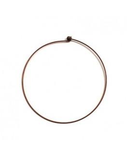 Tour de cou métal cuivre 12 cm