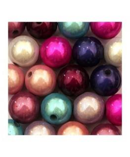 Perle magique 12mm rose x6
