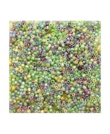 Rocaille opaque 2mm vert clair 20g