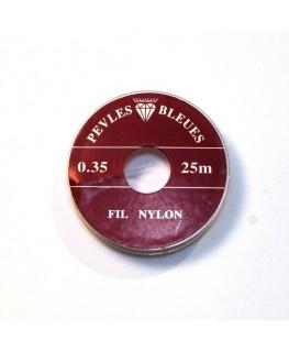 Fil nylon 0,35mm x 25m