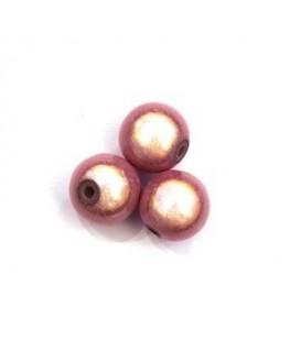 Perles magiques 10mm rose x10