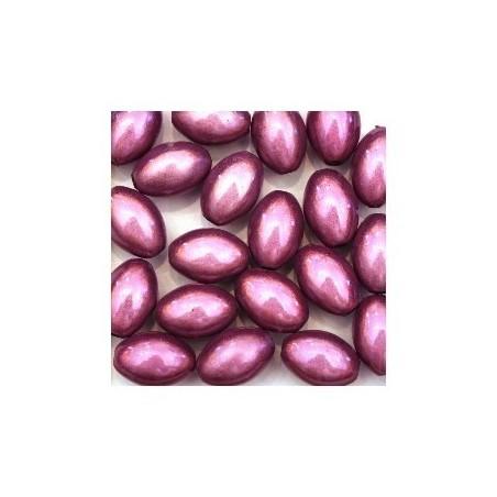 Perles magiques ovales violet x20