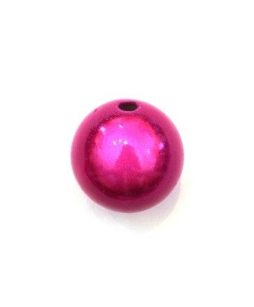 Perle magique 20mm fuchsia x1