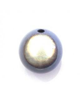 Perle magique 20mm bleu clair x1
