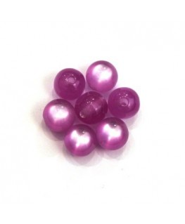 Perle polaris brillante 8mm lilas x25