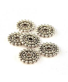 Perles intercalaires rondelle roue