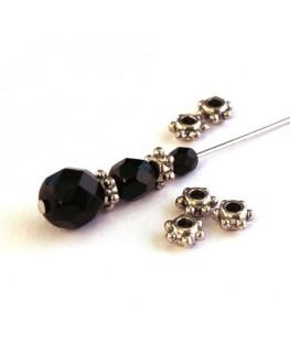 Perle intercalaire à picots en métal