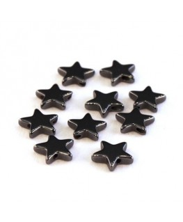 Perles étoile hématite 8mm