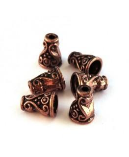 Perles cônes 10mm cuivre