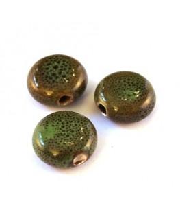 Perle céramique palet