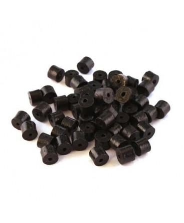 Perles en céramique noir