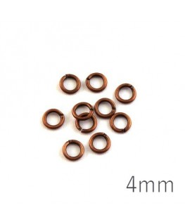 anneaux 4mm chivre