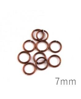 anneaux brisés 7mm cuivre