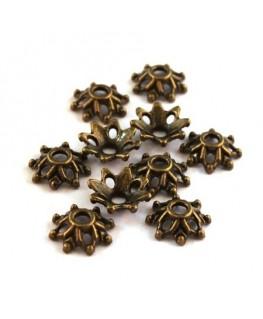 perles coupelles métal