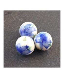 perle céramique fleurs