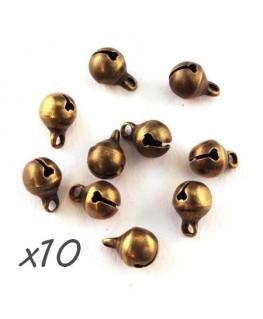 breloque grelot bronze