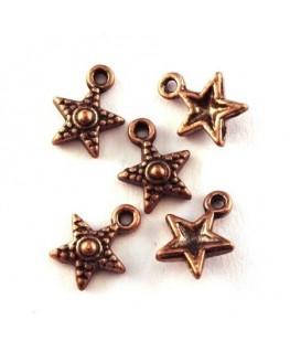 Breloque étoile cuivre