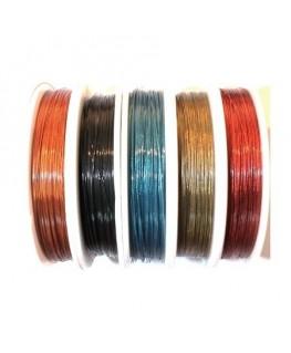 fil cablé pour bijoux