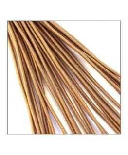 fil élastique gainé 1mm beige