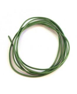 cordon cuir 1mm vert clair