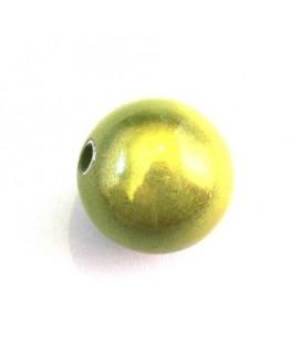 perle magique 20mm vert pomme x1