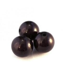 perle magique gris noir 14mm x5