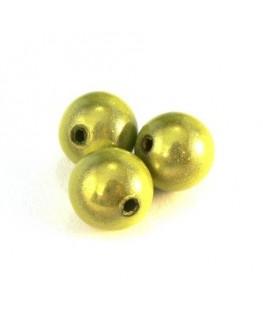 perle magique 12mm vert pomme x6