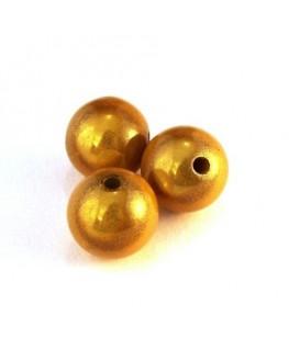 perle magique 12mm jaune x6