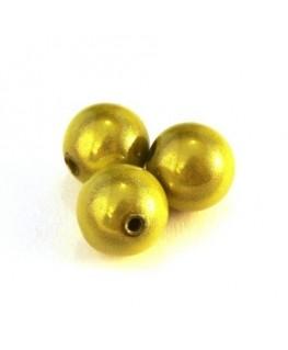 perle magique 12mm vert anis x6