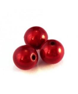 perle magique 12mm rouge x6
